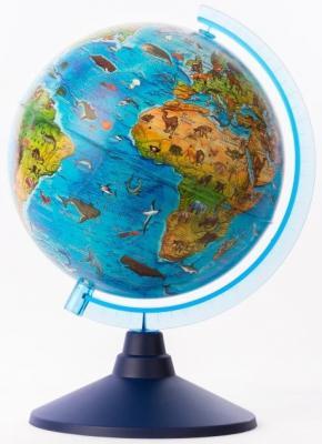 Глобус Globen Зоогеографический детский globen глобус земли физический диаметр 210 мм ке012100176