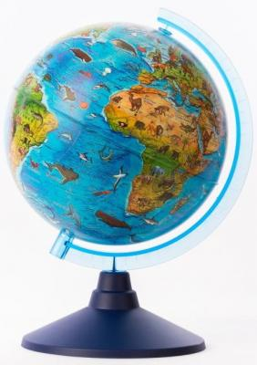 Купить Глобус Globen Зоогеографический, унисекс, Игровые наборы Юный мастер