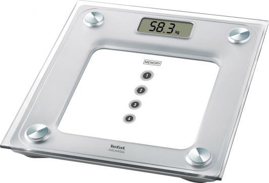 Весы напольные Tefal PP3020V1 белый весы напольные tefal pp1145
