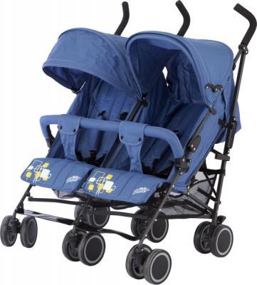 Коляска-трость для двойни Baby Care Citi Twin (blue) из ремонта