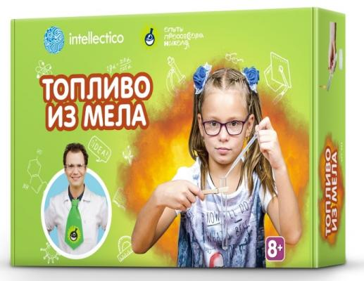 Набор для опытов INTELLECTICO Топливо из мела научно познавательный набор intellectico телеграф