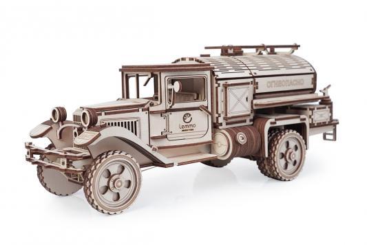 Конструктор LEMMO Большой грузовик ГАЗ-АА Заправщик 0073 lemmo сборная модель lemmo грузовик газ аа тент