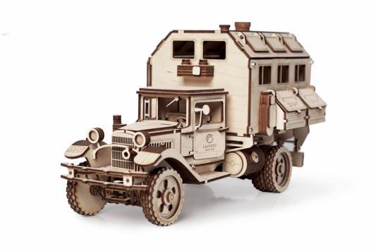Конструктор LEMMO Большой грузовик ГАЗ-АА Кунг 318 элементов 0100 конструктор металлический грузовик и трактор 345 элементов