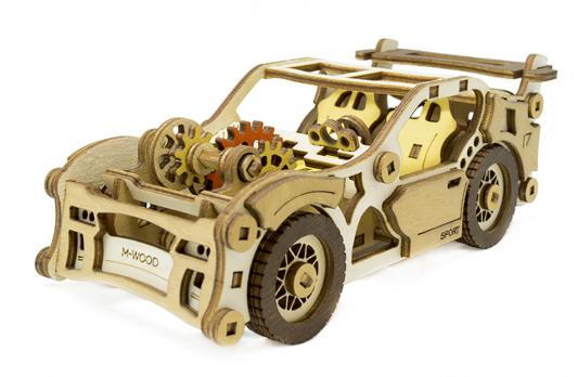 Конструктор M-WOOD Спорткар Velox 95 элементов MW-401