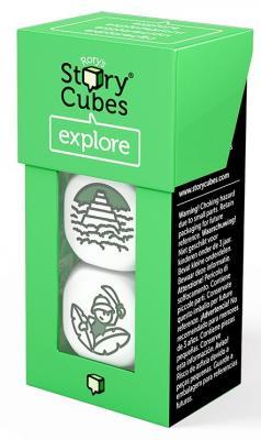 Купить Настольная игра RORYS STORY CUBES игральные кубики Кубики историй Дополнительный набор Открытия , 7 ? 4 ? 3 см, Игры для малышей