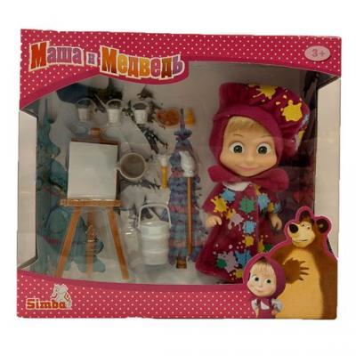Игровой набор SIMBA Маша в одежде художницы 9302047 кукла simba маша в одежде художницы с набором для рисования 12 см