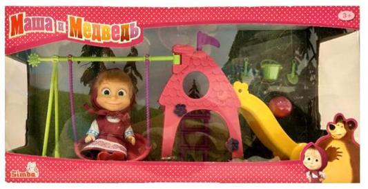 """Игровой набор SIMBA """"Маша с детской площадкой"""" 9301816 simba кукла маша с площадкой маша и медведь simba"""