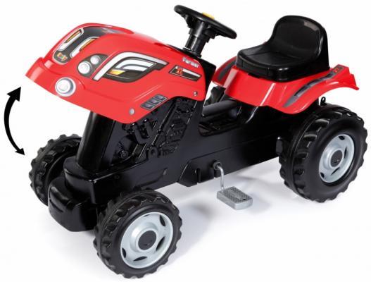 Каталка-трактор Smoby Farmer XL 710108 красный от 3 лет пластик smoby кастрюля tefal с 3 лет page 3