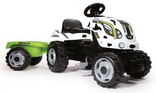 Каталка-машинка Smoby Farmer XL белый от 3 лет пластик 710113 smoby машинка animal planet smoby оранжевая