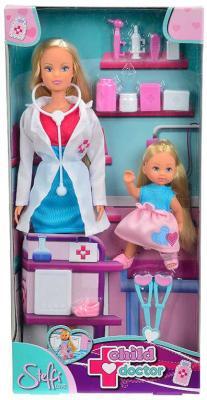 Набор STEFFI 5730934 Детский доктор (2 куклы) simba набор штеффи детский доктор steffi love