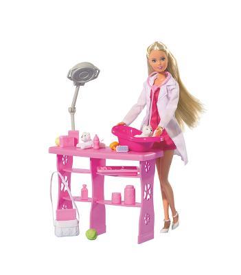 Купить Кукла Steffi Love Ветеринар 5737393, пластик, текстиль, Куклы Steffi
