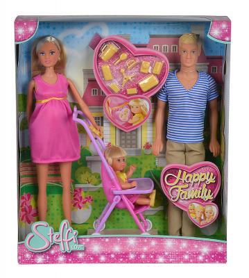 Набор кукол Steffi Love Семья 5733200 steffi игровой набор семья
