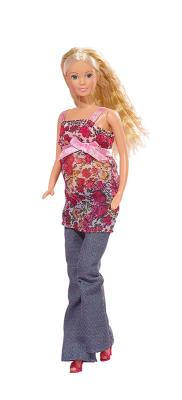 Купить Кукла Steffi Love Беременная 5734000, пластик, текстиль, Куклы Steffi