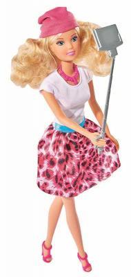 Купить Кукла Steffi Love С селфи-палкой 5738049, пластик, текстиль, Куклы Steffi