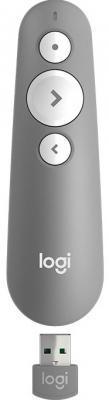 Пульт дистанционного управления Logitech R500 серый USB + Bluetooth 910-005387 bluetooth пульт дистанционного управления sena rc3