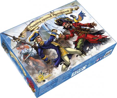 Настольная игра THINKERS карточная Пираты против Адмиралов настольная игра thinkers башня таварра 0708