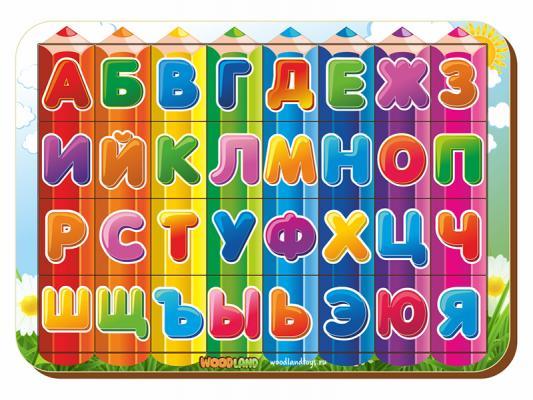 Рамка-вкладыш WOODLAND 092207 Изучаем буквы и алфавит 3
