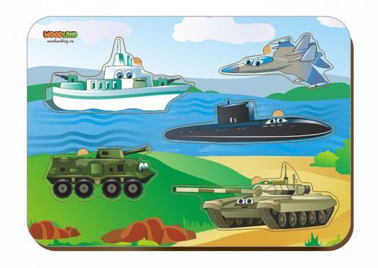 Рамка-вкладыш WOODLAND 011401 Военная техника. woodland рамка вкладыш барбоскины 1