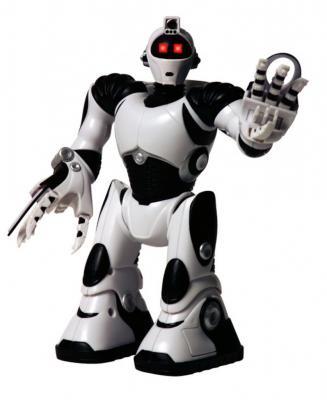 Купить Робот электронный WOWWEE Мини робот Робосапиен V2 22 см двигающийся светящийся 8191, Игрушки Роботы