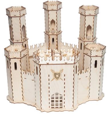Купить Сборная деревянная модель БОЛЬШОЙ СЛОН Д-004 Крепость Крестоносцев, Большой слон, Фанера, Для всех, Прочие