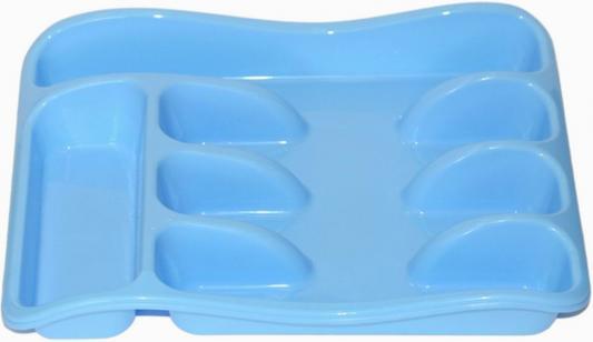 Лоток для столовых приборов Violet 0601/3 голубой