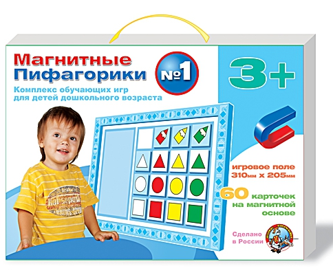Набор для творчества Десятое королевство Магнитные пифагорики от 3 лет развивающие и обучающие десятое королевство магнитные пифагорики n1