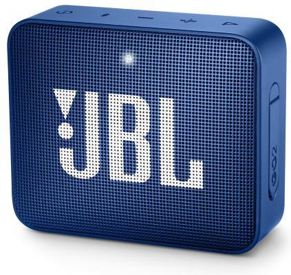 Динамик JBL Портативная акустическая система JBL GO 2 синяя