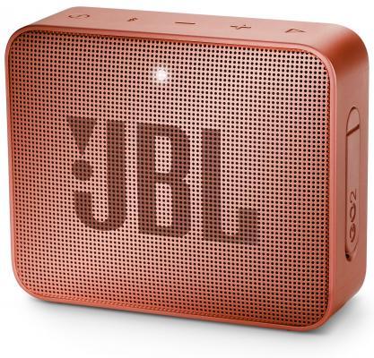 Динамик JBL Портативная акустическая система JBL GO 2 светло коричневый jbl trip