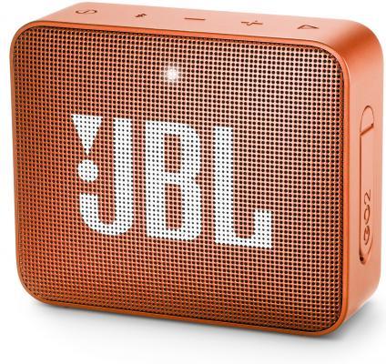 Динамик JBL Портативная акустическая система JBL GO 2 оранжевый