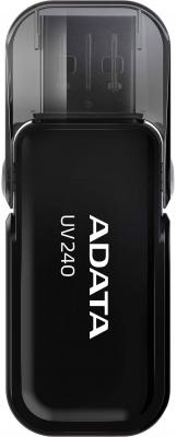 Фото - A-DATA Flash Drive 32Gb UV240 AUV240-32G-RBK {USB2.0, Black} usb flash drive 8gb a data c906 classic black ac906 8g rbk