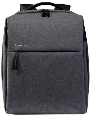 Рюкзак для ноутбука 14 Xiaomi City полиэстер темно-серый ZJB4067GL рюкзак xiaomi mi city backpack 15 полиэстер и нейлон темно серый [zjb4067gl]