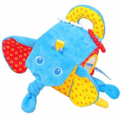 Купить Кубики МЯКИШИ Кубик Слон от 1 года 1 шт, Кубики и стенки