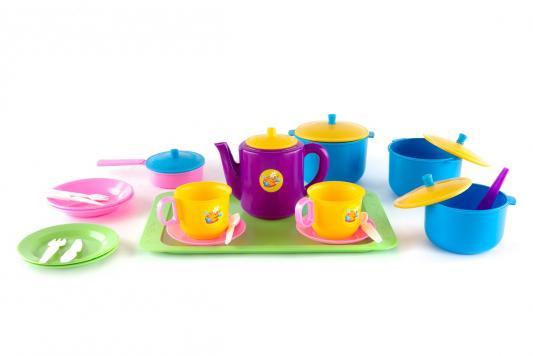 Набор посуды Пластмастер Набор посуды «Обед» 21 предмет набор посуды polaris verona 04s