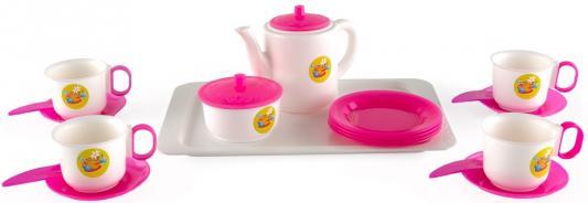 Купить Набор детской посуды ПЛАСТМАСТЕР 21001 Чайный, Пластмастер, для девочки, Домики и аксессуары
