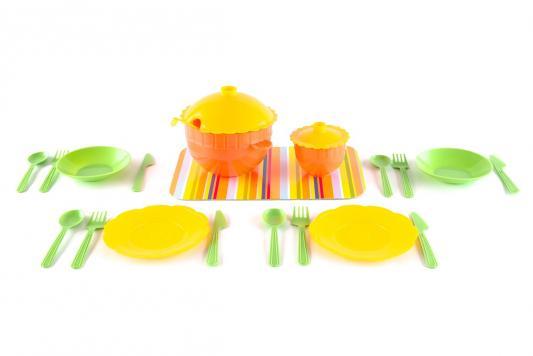 Купить Набор посуды Пластмастер Набор детской посуды Сервиз 25 предметов, для девочки, Домики и аксессуары
