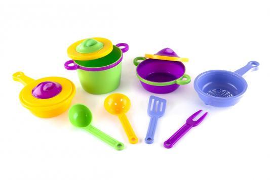 Набор посуды Пластмастер Набор посуды «Эксперт» 11 предметов набор посуды polaris verona 04s