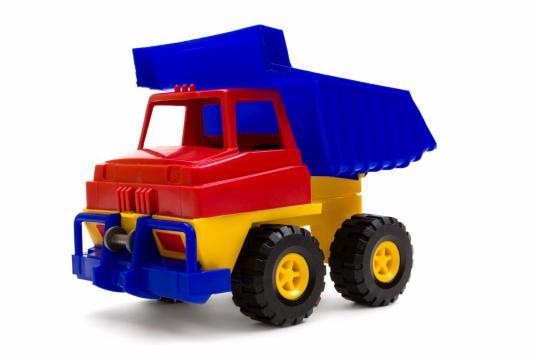 Купить Самосвал Пластмастер Самосвал разноцветный 31101, Детские модели машинок