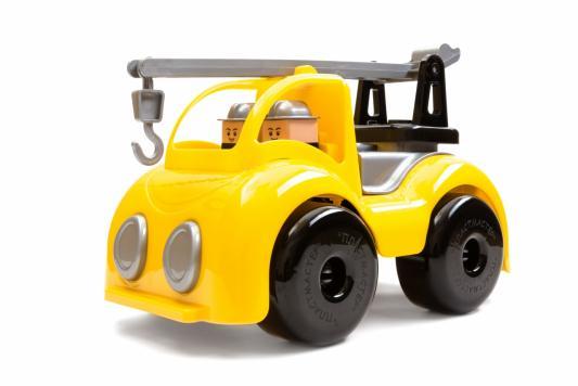 Автокран Пластмастер Кран строительный желтый 31125 стоимость