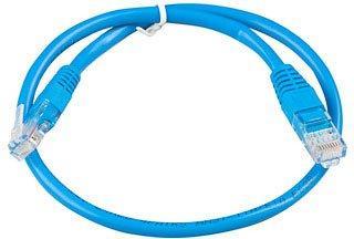 Патч-корд UTP кат. 5е,  0.5м Exegate синий