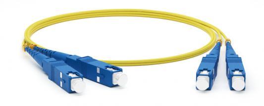 Hyperline FC-D2-9-SC/UR-SC/UR-H-1M-LSZH-YL Патч-корд волоконно-оптический (шнур) SM 9/125 (OS2), SC/UPC-SC/UPC, 2.0 мм, duplex, LSZH, 1 м fc nantes amiens sc