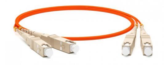Hyperline FC-D2-62-SC/PR-SC/PR-H-2M-LSZH-OR Патч-корд волоконно-оптический (шнур) MM 62.5/125, SC-SC, 2.0 мм, duplex, LSZH, 2 м патч корд hyperline fc d2 50 sc pr sc pr h 2m lszh 2 м оранжевый