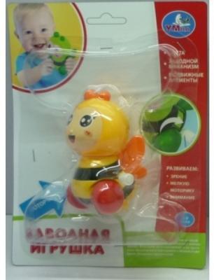 Заводная игрушка УМКА Пчелка заводная игрушка умка заводная игрушка