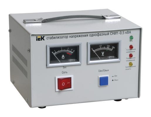Iek [IVS10-1-00500] Стабилизатор напряжения СНИ1-0,5 кВА однофазный ИЭК стабилизатор напряжения iek снр1 0 2 ква