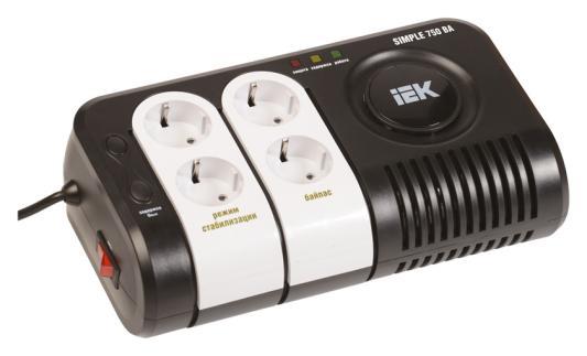 Iek [IVS25-1-00750] Стабилизатор напряжения серии Simple 0,75 кВА IEK