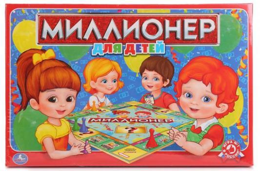 Настольная игра УМКА обучающая Миллионер для детей 4690590108802