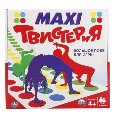 Настольная игра УМКА для вечеринки Макси Твистерия пьяная рулетка – подарок для шумной вечеринки