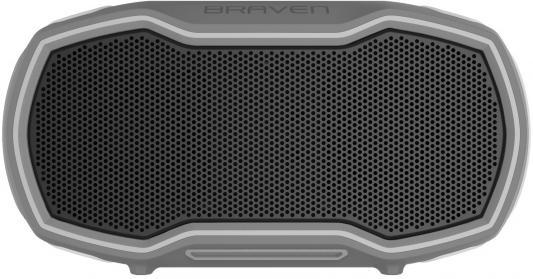 Беспроводная акустика Braven Ready Prime. Цвет серый\\серый\\оранжевый беспроводная акустика braven stryde цвет серебряный зеленый