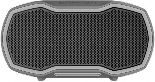 Беспроводная акустика Braven Ready Elite. Цвет серый/оранжевый. беспроводная акустика braven stryde цвет серебряный зеленый
