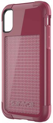 купить Накладка Griffin Survivor Fit для iPhone X красный TA43983 по цене 850 рублей