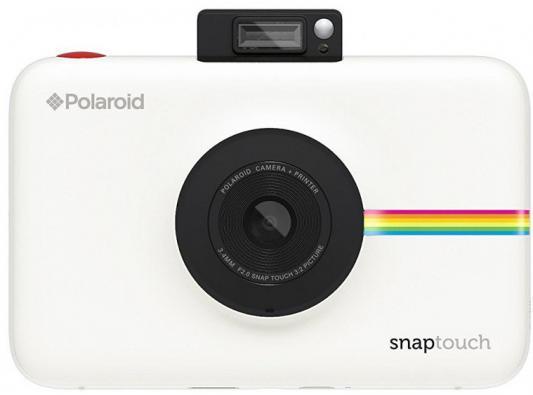 лучшая цена Фотокамера Polaroid Snap Touch с функцией мгновенной печати. Цвет белый.